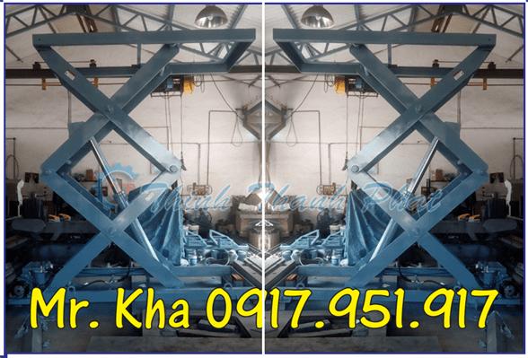 Bàn nâng thủy lực mẫu 1000Kg 01