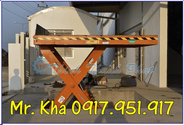 Bàn nâng thủy lực mẫu 1000Kg 02